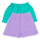 Set pantaloni scurti pastel