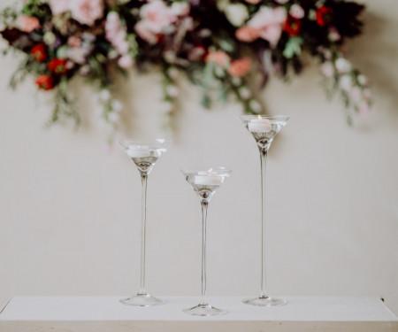 cupa martini sticla