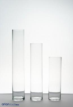 Glass cylinder H 40 D 9
