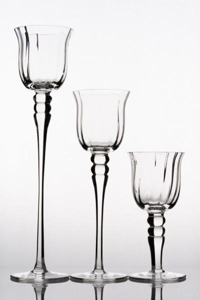 sfesnice sticla inalte nunta