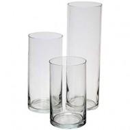 Glass cylinder H 20 D 12