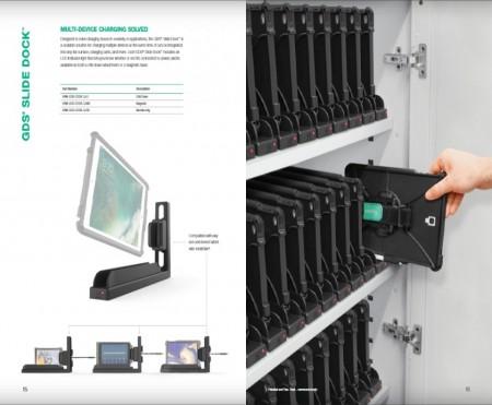 GDS® Slide Dock™ IntelliSkin® termékekhez, mágneses talppal