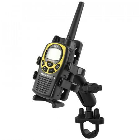 RAM® Finger-Grip™ univerzális telefon - GPS - PMR-rádió tartó szerkezet kormányra v. csőre