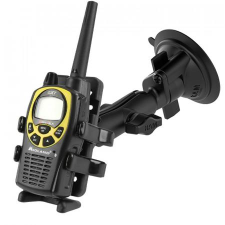 RAM® Twist-Lock™ tapadókorongos univerzális telefon - GPS - PMR-rádió tartó szerkezet
