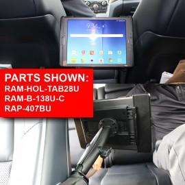 Autó ülés mellé ékelődő tartó (Seat Tough-Wedge)