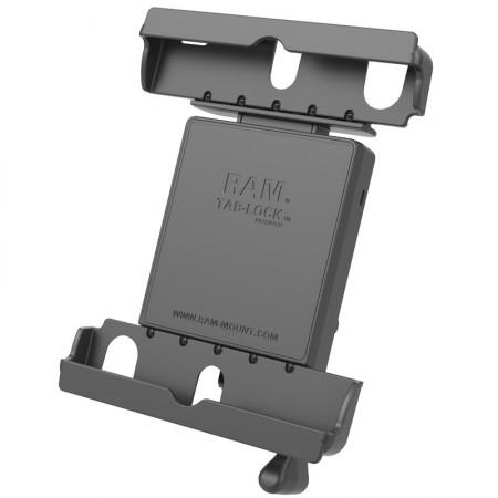 """RAM® Tab-Lock™ ZÁRHATÓ tartó bölcső védőtokba helyezett 9-10""""-os tabletekhez"""