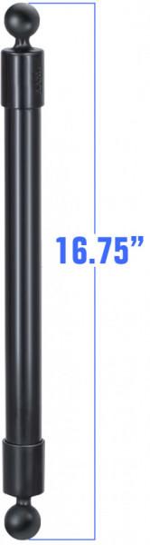 """RAM® 42,5 cm-es PVC hosszabbító cső 1""""-os golyókkal"""