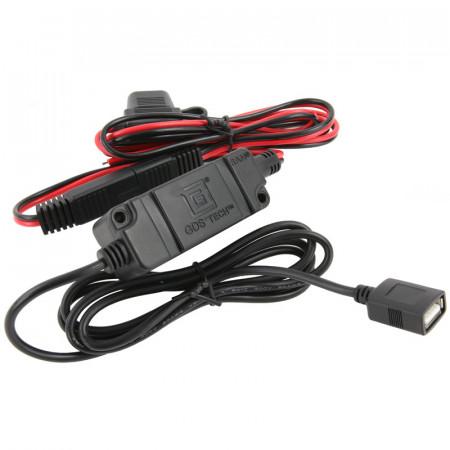 RAM® vezetékes töltő motorkerékpárokhoz, USB csatlakozóval