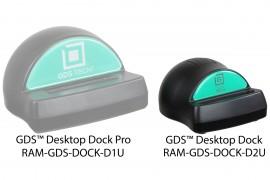 RAM dokkoló-töltő állomás GDS csatlakozó felülettel rendelkező RAM IntelliSkin™ termékek számára