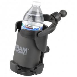 """RAM Level Cup™ XL - szabályozható méretű italtartó 1""""-os golyóval"""
