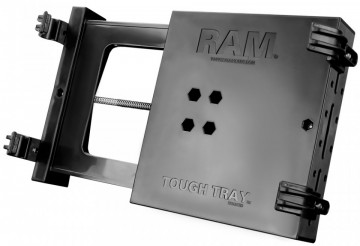 """RAM Tough-Tray™ univerzális laptop tartó nagyobb rázkódásoknak kitett környezetre  (10-16"""" képernyő)"""