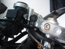 Rögzítő bázis 11 mm-es felfogatási lyukkal