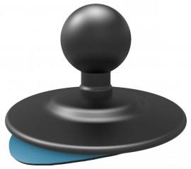 Flexibilis, ragasztható rögzítő talp