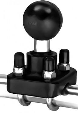 """RAM dupla rögzítős 1,5""""-os csőre szerelhető tartó adapter 1,5""""-os golyóval"""