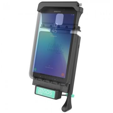 RAM GDS™ Technológiájú ZÁRHATÓ dokkoló Samsung Galaxy Tab Active2 tablethez