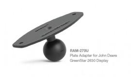 "RAM tartó adapter 1.5""-os golyóval John Deere GreenStar 2600 és 2630 monitorhoz"