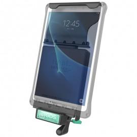 RAM GDS™ Technológiájú ZÁRHATÓ dokkoló Samsung Galaxy Tab A 10.1 (2016) és Tab A 10.1 S Pen tabletekhez