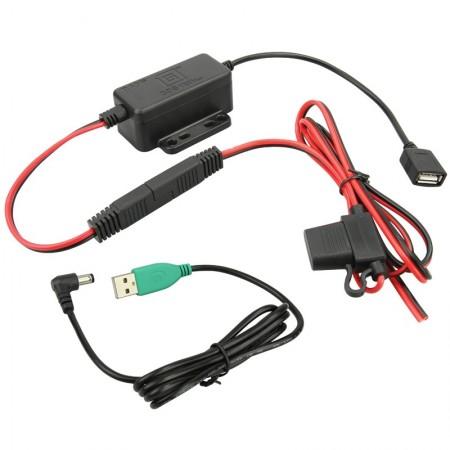 GDS® stabilizált fixen telepíthető töltő, DC power-jack kábellel