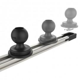 "RAM® Tough-Track™ alumínium moduláris sín(rendszer), 5"""