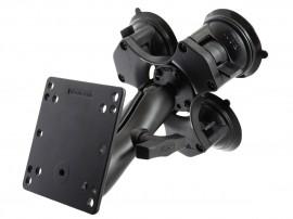 3x-os központosított vákuumos rögzítő bázis VESA 100 tartóval
