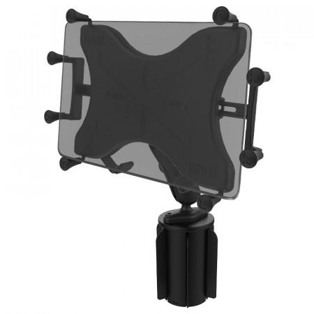 """Komplett 10""""-os tablet tartó szett italtartóba helyezhető bázissal (X-Grip)"""
