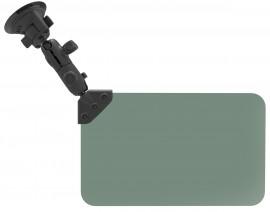 RAM sötétzöld napvédő rendszer vákuumos rögzítő rendszerrel