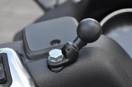 Rögzítő bázis 9 mm-es felfogatási lyukkal