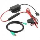 GDS® stabilizált fixen telepíthető töltő, Micro-USB kábellel