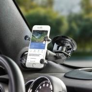 Komplett telefon tartó szett szélvédőre vagy sík felületre (vákuumos rögzítéssel)