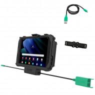 RAM® EZ-Roll'r™ Töltő és Duál USB adatkapcsolatos dokkoló Samsung Galaxy Tab® Active3 és Active2-höz