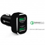 RAM GDS® 2-Port USB szivargyújtó adapter (Qualcomm® Quick Charge™)
