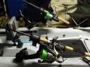 RAM-ROD™ Light-Speed™ horgászbot tartó forgatható állvánnyal