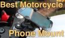 Komplett telefon tartó szett kormányszárba, RÖVID karral
