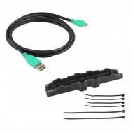 RAM® EZ-Roll'r™ kulccsal zárható Töltő és Duál USB adatkapcsolatos dokkoló Samsung Galaxy Tab® Active3 és Active2-höz