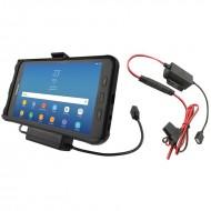 RAM® EZ-Roll'r™ Töltő és Adatkapcsolatos tartó bölcső Samsung Galaxy Tab® Active2-höz