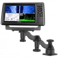 Vízszintes felületre szerelhető GPS/Halradar tartó 30 cm-es forgatható karral
