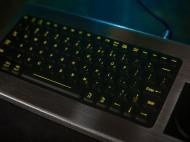 """iKey DBL-810-FSR háttérvilágítású billentyűzet integrált nyomásérzékelős """"egérrel"""""""