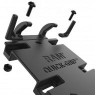 RAM Quick-Grip™ XL komplett telefontartó szett nagyméretű mobiltelefonokhoz, kormányra v. csőre
