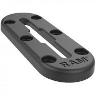 RAM® Tough-Track™ felső betöltéses sín, kompozit, 12 cm-es