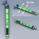 RAM EZ-Strap™ gyors-csatlakozós bázis dupla golyós karral és gyémánt alakú tartóval