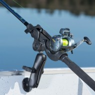 RAM ROD® horgászbot tartó dupla-gömbcsuklós forgatható állvánnyal