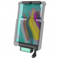 RAM GDS™ Technológiájú ZÁRHATÓ dokkoló Samsung Tab S5e és Tab A 10.1 (2019) tabletekhez