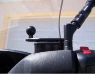 Bázis olajtartály fedélre oldalra helyezett golyóval
