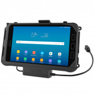 RAM® EZ-Roll'r™ Töltő és Adat kapcsolatos dokkoló Samsung Galaxy Tab® Active3 és Active2-höz