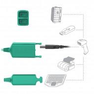 RAM® Skin™ számzáras Töltő és Dupla Adatkapcsolatos tartó bölcső Samsung Galaxy Tab® Active Pro-hoz