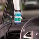 Komplett telefon tartó szett sík felületre (autós szett)