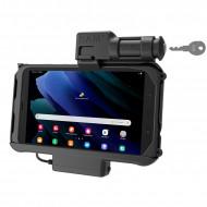 RAM® EZ-Roll'r™ kulccsal zárható tartóbölcső Samsung Galaxy Tab® Active3 és Active2-höz menet közbeni töltéssel