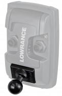 """RAM gyorskioldós tartó adapter Lowrance Elite-4/5 és Mark-4 sorozathoz, 1""""-os golyóval"""