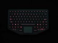iKey® BT-870-TP-SLIM kettősen csatlakoztatható ipari billentyűzet (USB és Bluetooth)