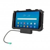 RAM® EZ-Roll'r™ tartó bölcső Samsung Galaxy Tab® Active3 és Active2-höz menet közbeni töltéssel